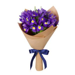 Букет из 19 цветов Ирисов